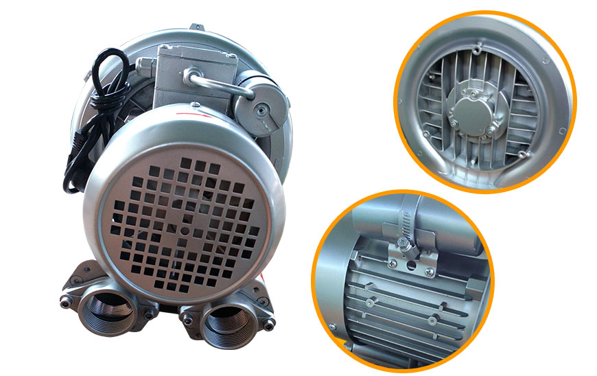 Swimming pool air pump, pool air blower