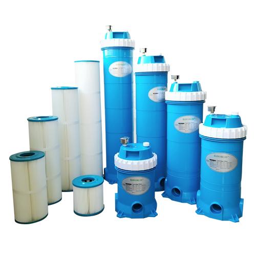 Swimming pool filter cartridge / cartridge filter