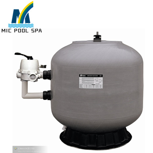 2.0\'\' Side Mounted Valve Swimming Pool swimming pool silica sand filter,  swimming pool equipment(32\'\'-56\'\' /800-1400mm)